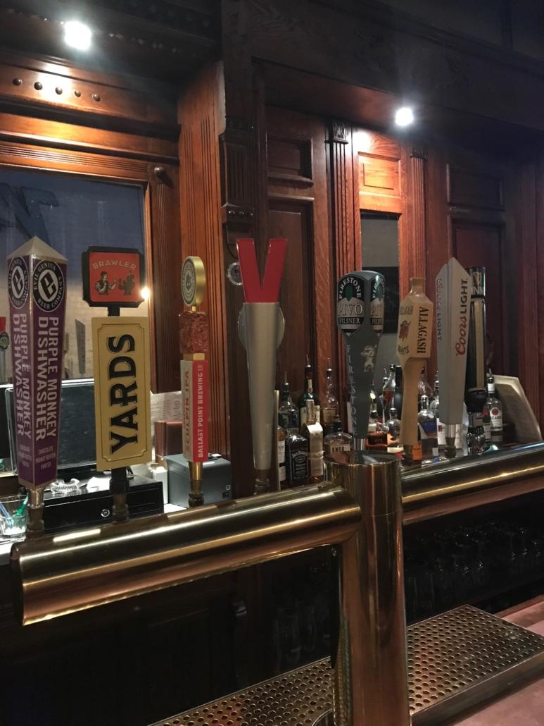 Saxers Pub Beer
